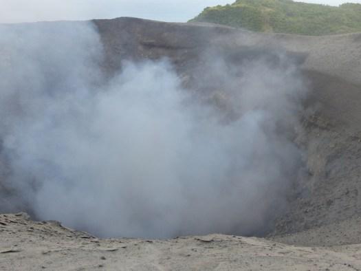 Mt Yasur volcano in daylight