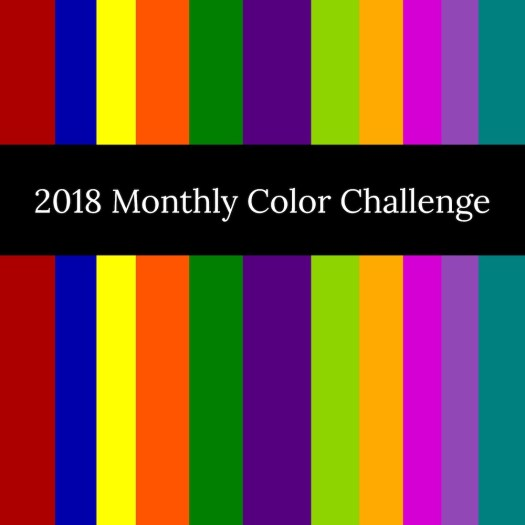 2108 Monthly Color Challenge