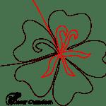 hibiscus FMQ design
