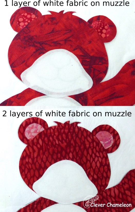 comparison of one vs two layers of fabric