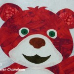 Red bear from Beray Colourful BOM