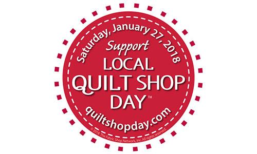 Quilt shop Day
