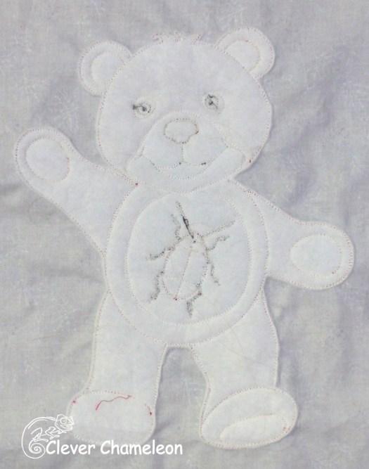 trapunto bear