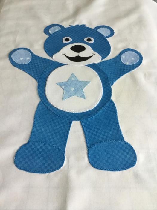 Kim's Blue Bear