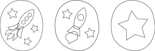 rocket appliqué options