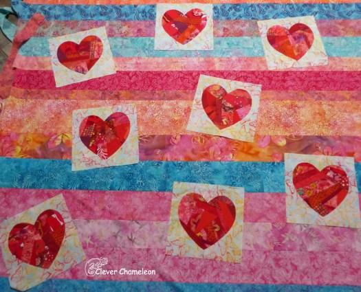 Valentine's Heart Quilt