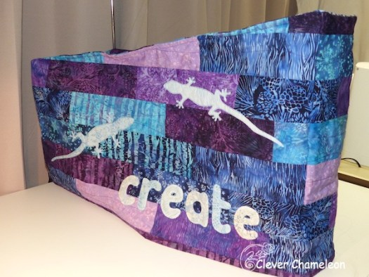 How To Make A Sewing Machine Dust Cover Clever Chameleon