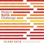 Island Batik ambassador button