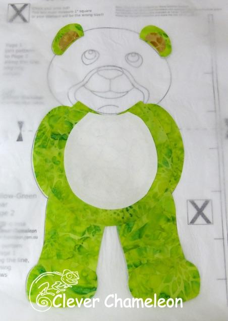 Head Bear Arms Template