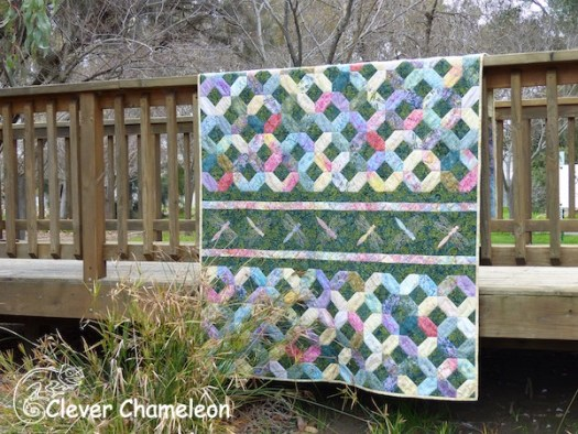 Victoria and Albert quilt by Clever Chameleon in the Great Outdoors
