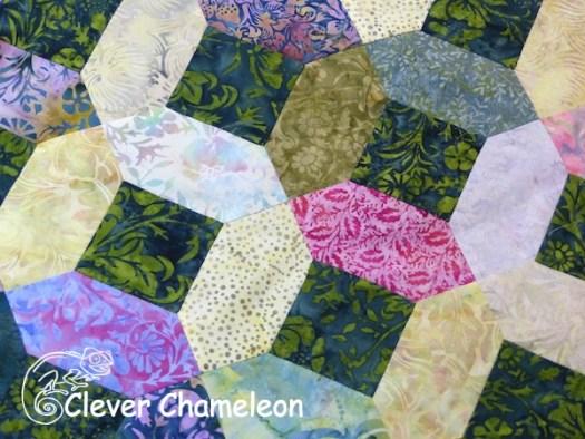 Flower Garden quilt by Clever Chameleon
