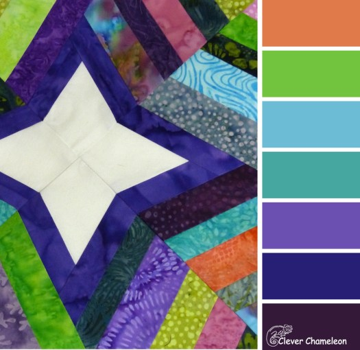 Wishing Star colour scheme by Clever Chameleon