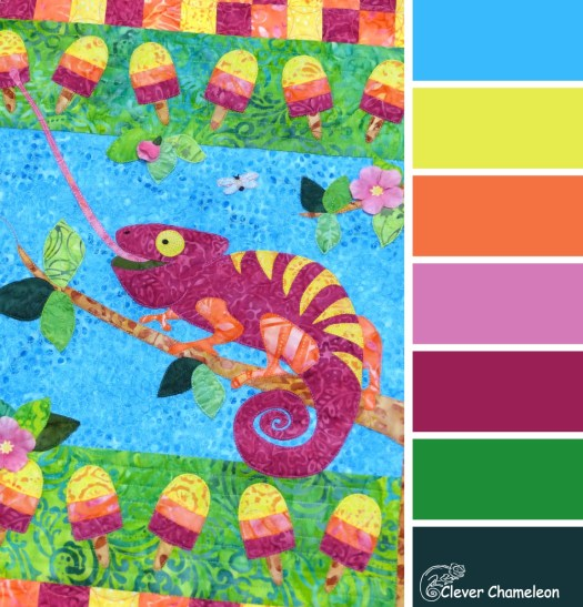 Always Choose Tropical colour scheme by Clever Chameleon