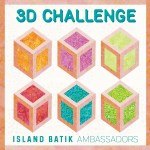 Island Batik 3D challenge logo