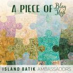 Island Batik blog hop logo