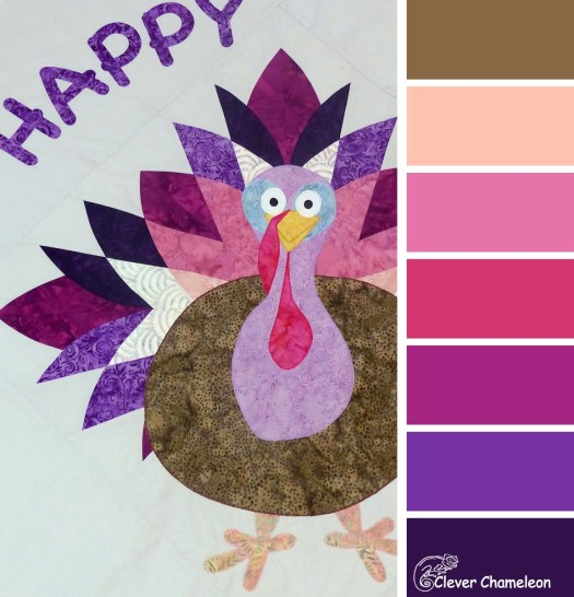 Talking Turkey colour board at Clever Chameleon