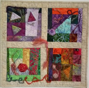Exit Strategy 1 Quilt by Andrée