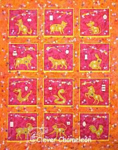 Lunarcy Quilt Design