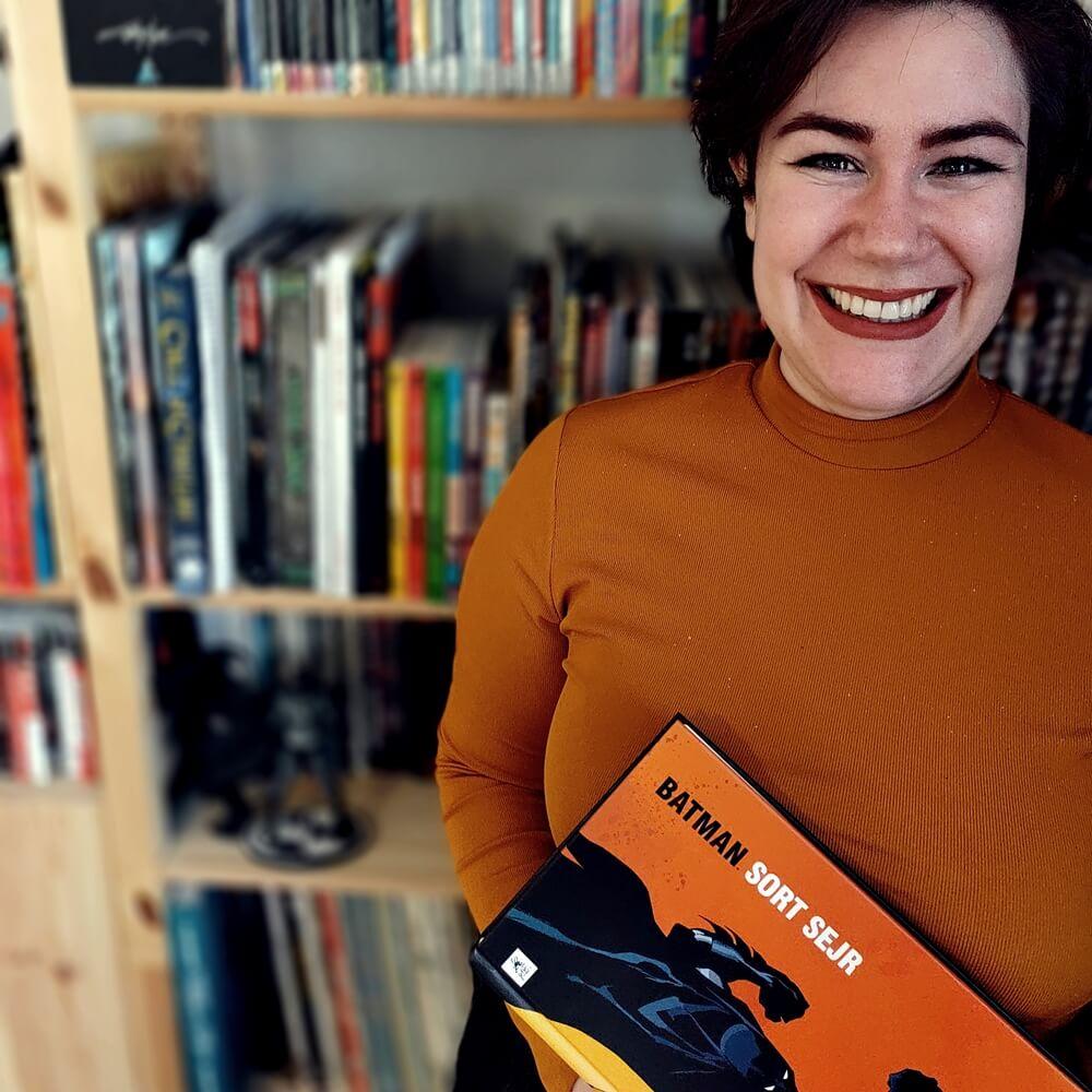 Josephine Valentin, ekspert på tegneserier