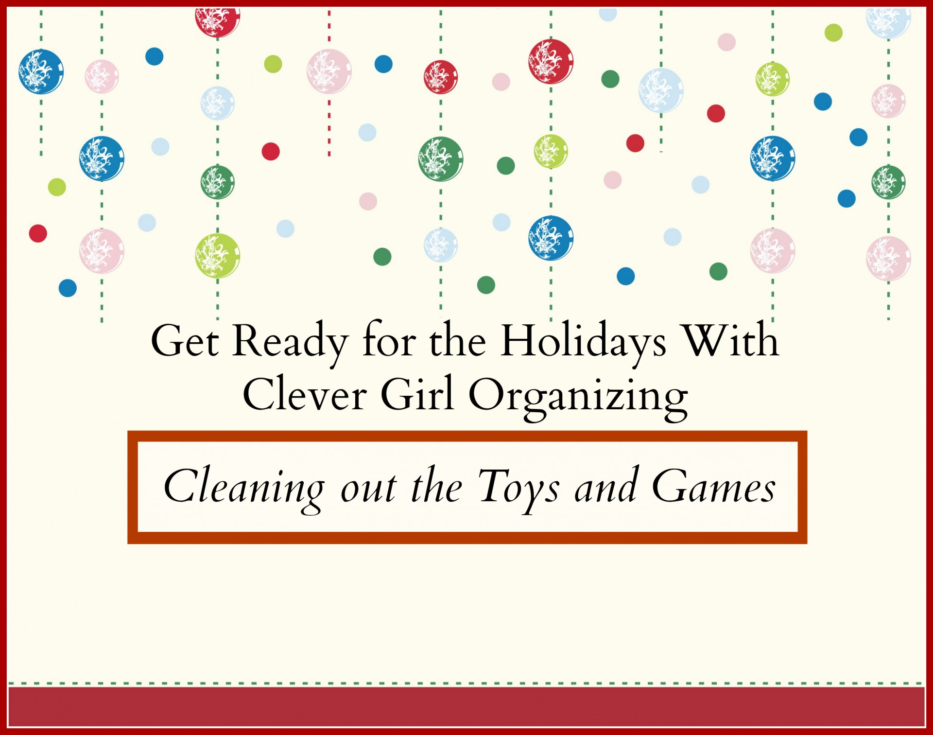 Toys We Got For The Holidays : Get ready for the holidays out with old