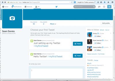 4. Account Created