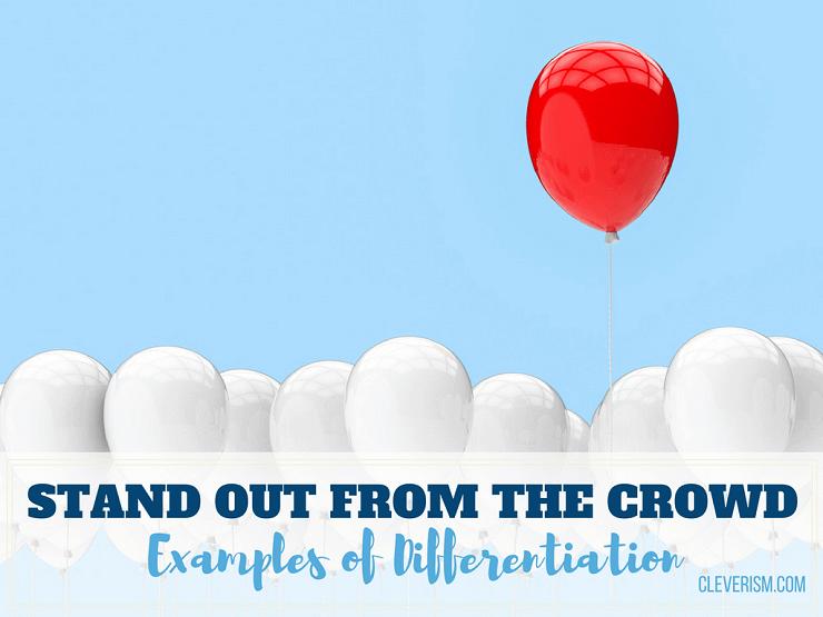 Successful differentiation essay