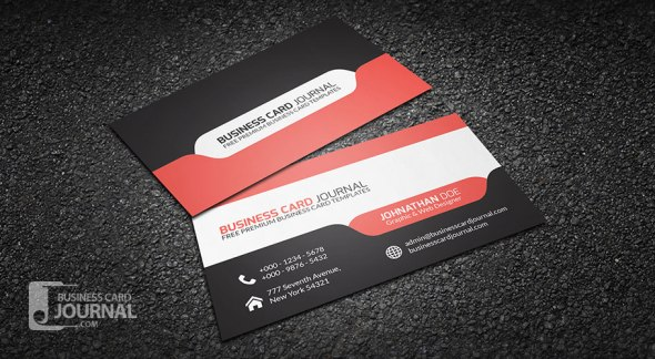 75 free business card templates that are stunning beautiful 18 stylish and modern tab design wajeb