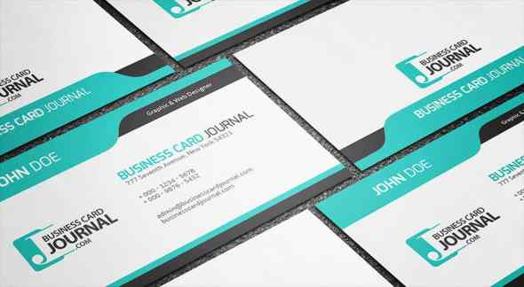 75 free business card templates that are stunning beautiful 41 cool blue creative business card template cheaphphosting Images