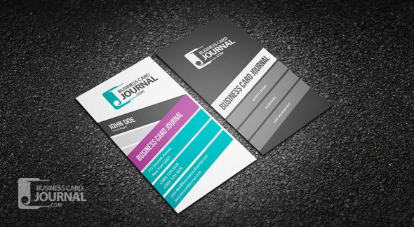 75 free business card templates that are stunning beautiful 43 stylish and creative vertical business card template accmission Gallery
