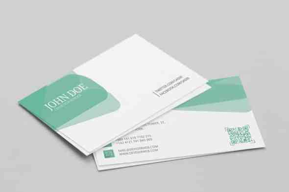 75 free business card templates that are stunning beautiful 58 personal visiting card psd template wajeb Choice Image