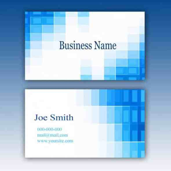 75 free business card templates that are stunning beautiful 75 blue business card template cheaphphosting Image collections