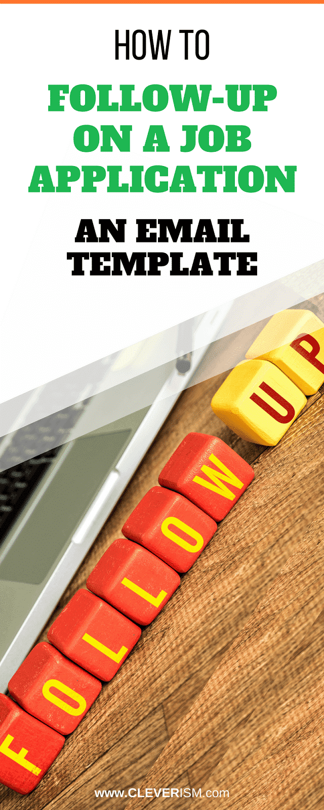 how to follow up on a job application an email template followup