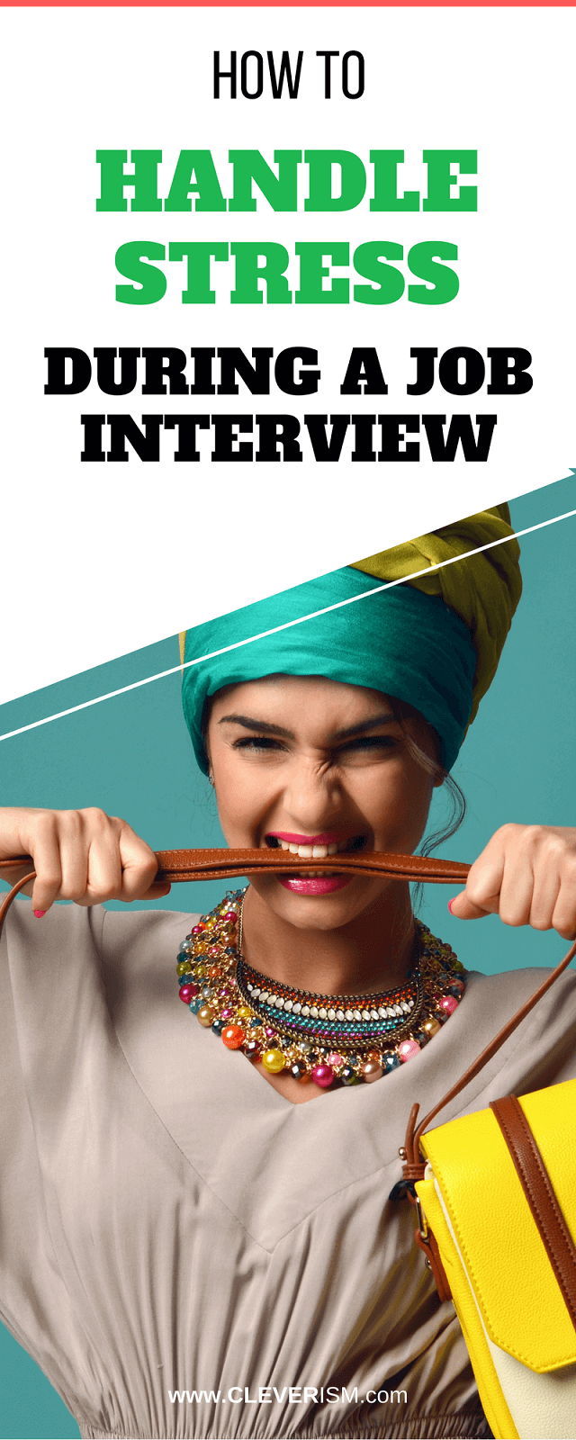 How to Handle Stress During a Job Interview - #JobInterview #HandleStress #StessDuringJobInterview #Cleverism #JobSearch
