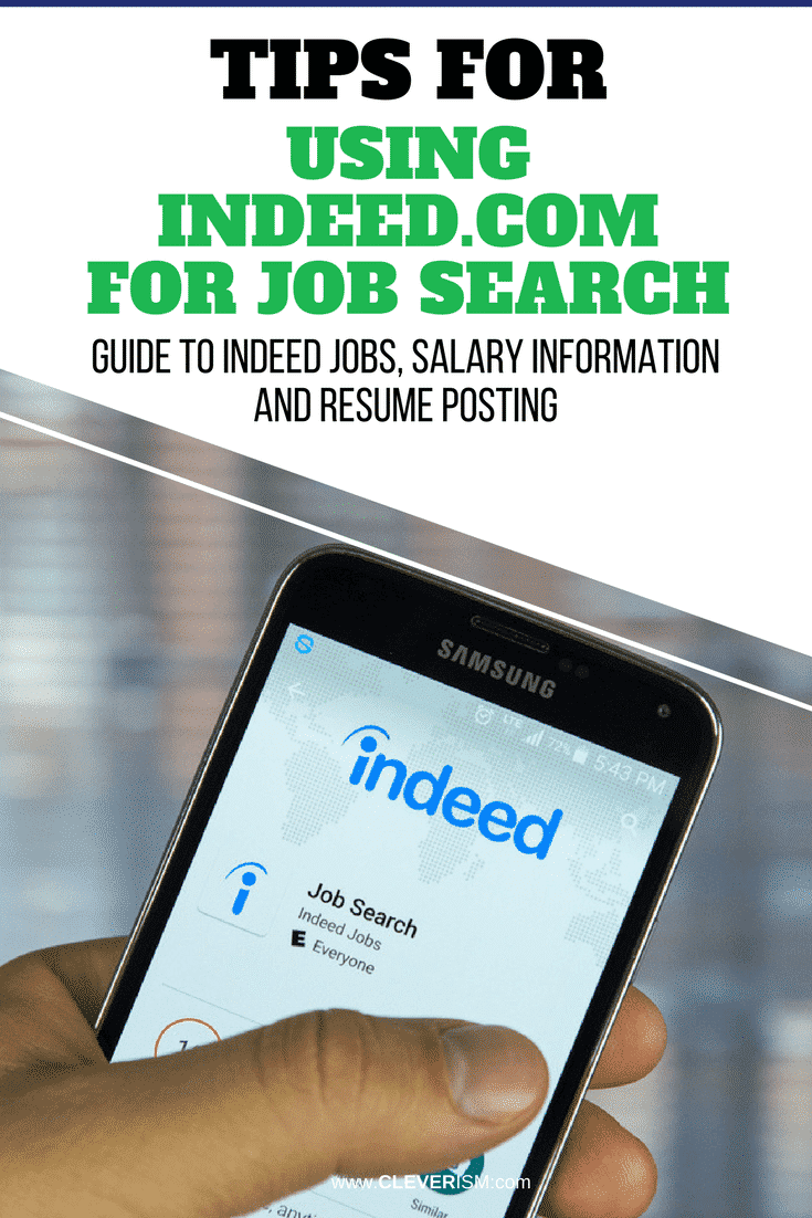 Tips for Using Indeed.com to Job Search: Guide to Indeed Jobs ...