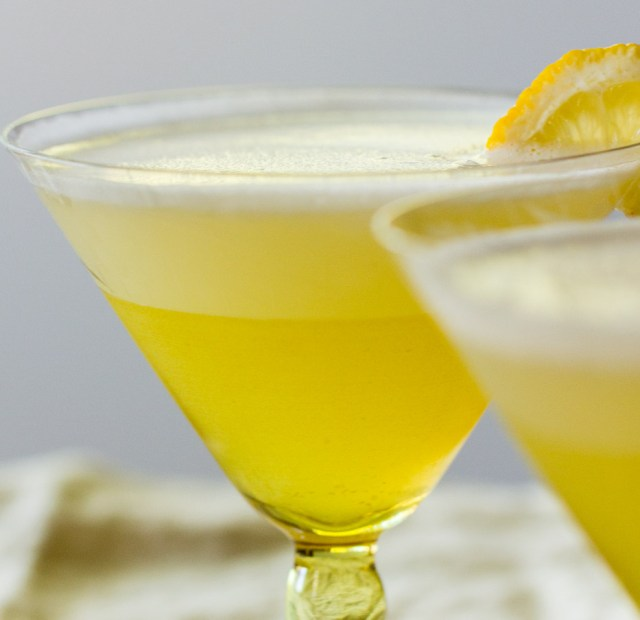 Elder Lady - a gin and St. Germain cocktail