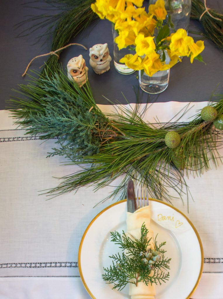 How to set a simple Thanksgiving table
