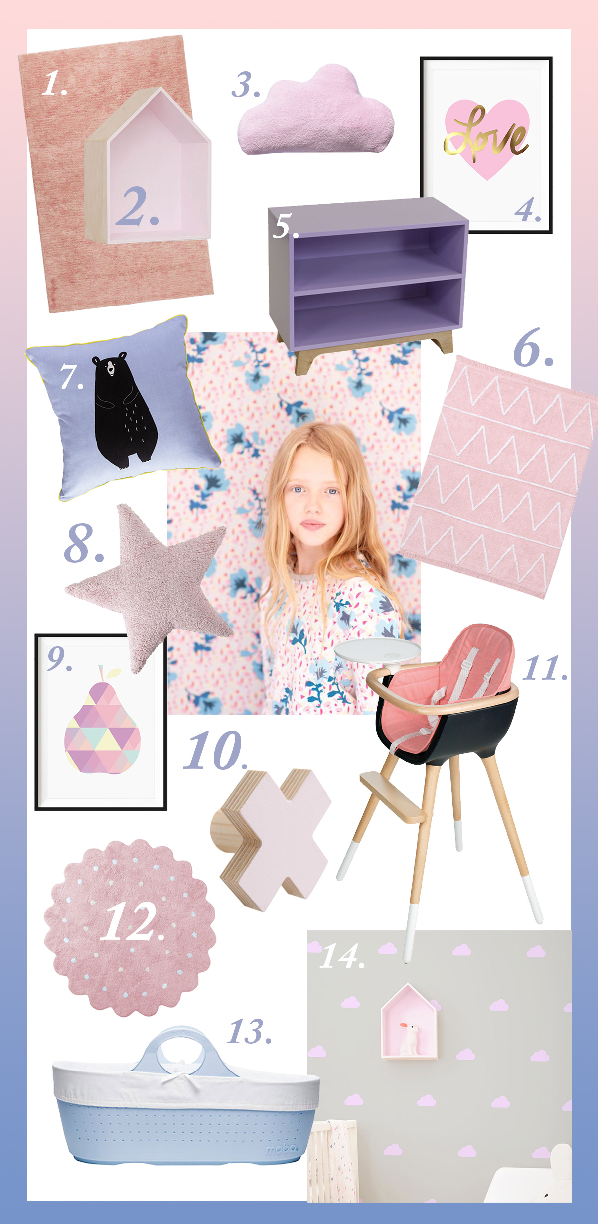 2016 Pantone colour of the year: Rose Quartz & Serenity This year we are embracing Pantone's colour philosophy and moving away from the stereotypical pink for girls and blue for boys.