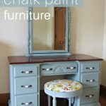 How To Chalk Paint Furniture Cleverly Simple