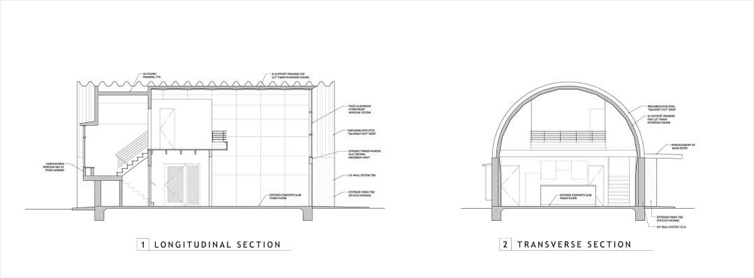 Plans Clever Moderns – Quonset Hut House Floor Plans