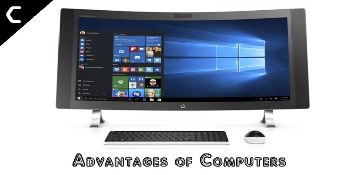 Advantages of Computers