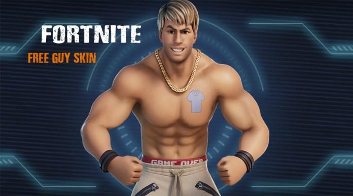 Free Guy Dude Fortnite Skin