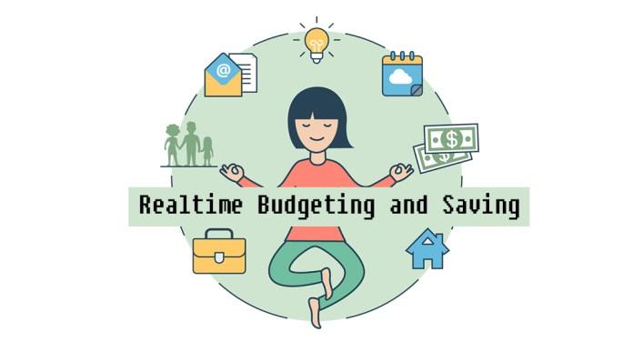 Realtime Budgeting and Saving