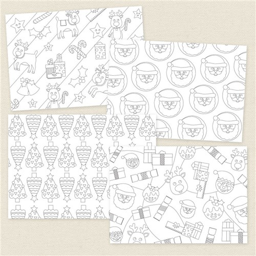 Christmas Wrapping Paper | Christmas | CleverPatch - Art ...
