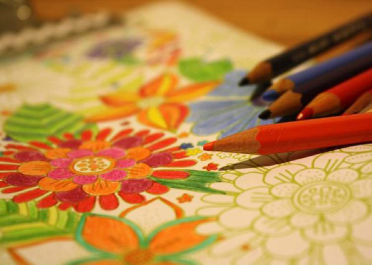 Big Abstract Coloring Pages : Best stress busting coloring books for adults