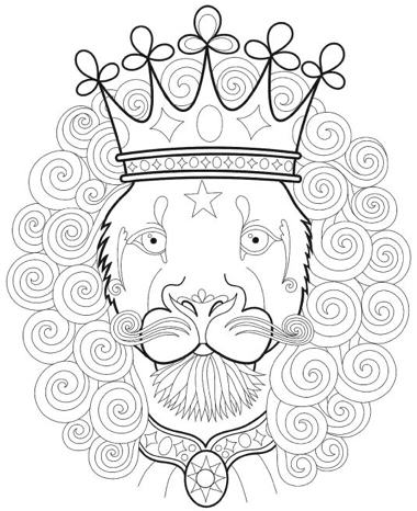 Dapper Animals Coloring Book (Design Originals)