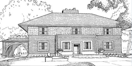 None Shaded Cottage Coloring Pages - Worksheet & Coloring Pages
