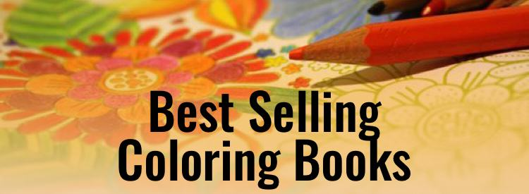 Best Selling Coloring Books
