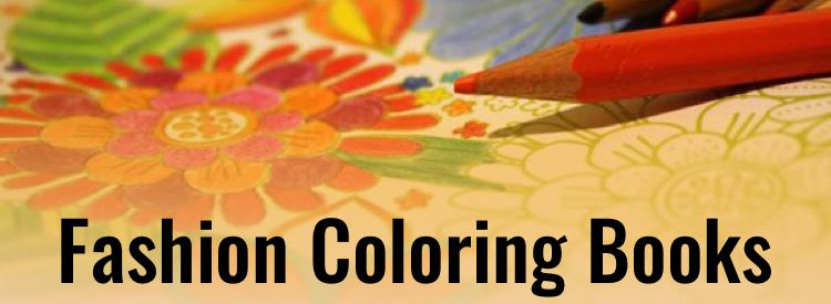 Fashion Coloring Books