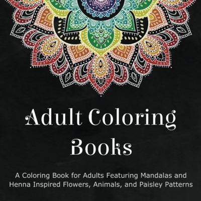 Coloring Cards for Adults: Tear-Out Coloring Pages for Adults - Mandalas & Patterns Coloring Books for Grown-Ups