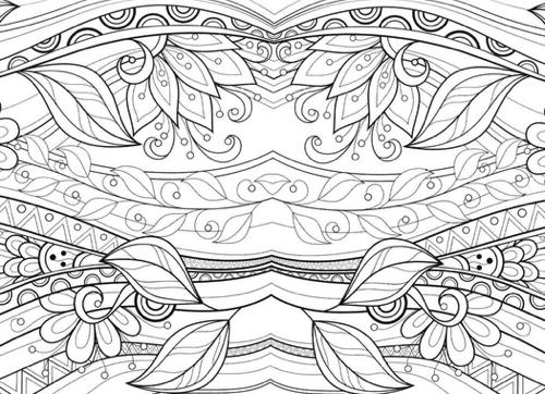 Detailed Designs And Beautiful Patterns (Sacred Mandala Designs And  Patterns Coloring Books For Adults,